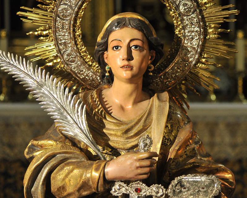 Salida procesional de Santa Lucía