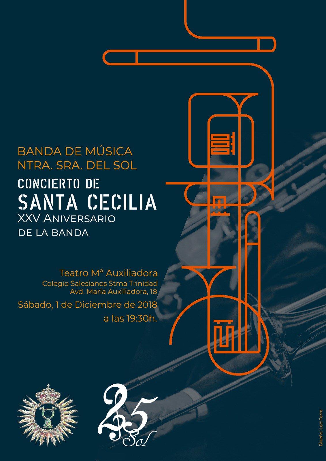 ¡Anunciamos nuestro concierto de Santa Cecilia!