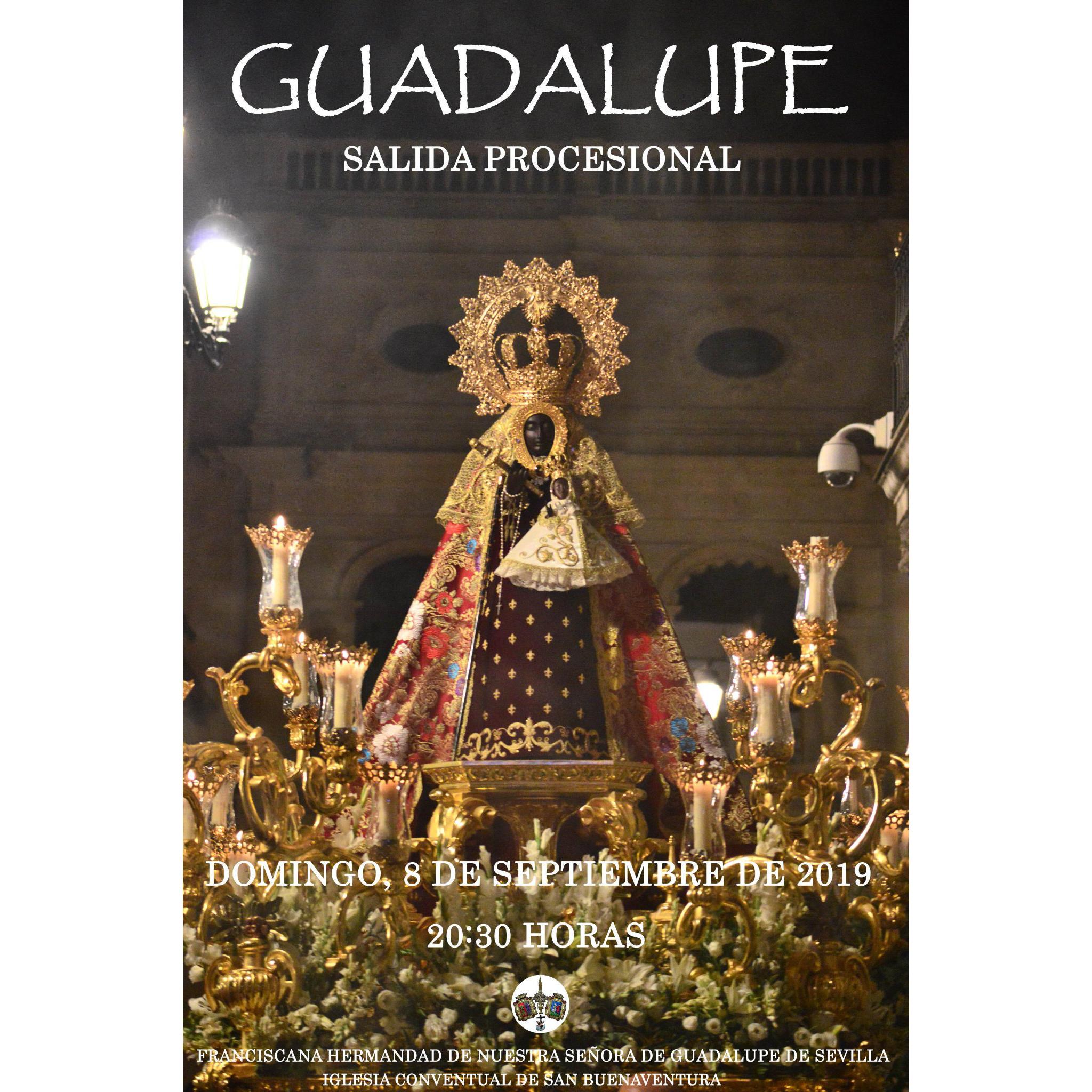 Salida Procesional de Nuestra Señora de Guadalupe