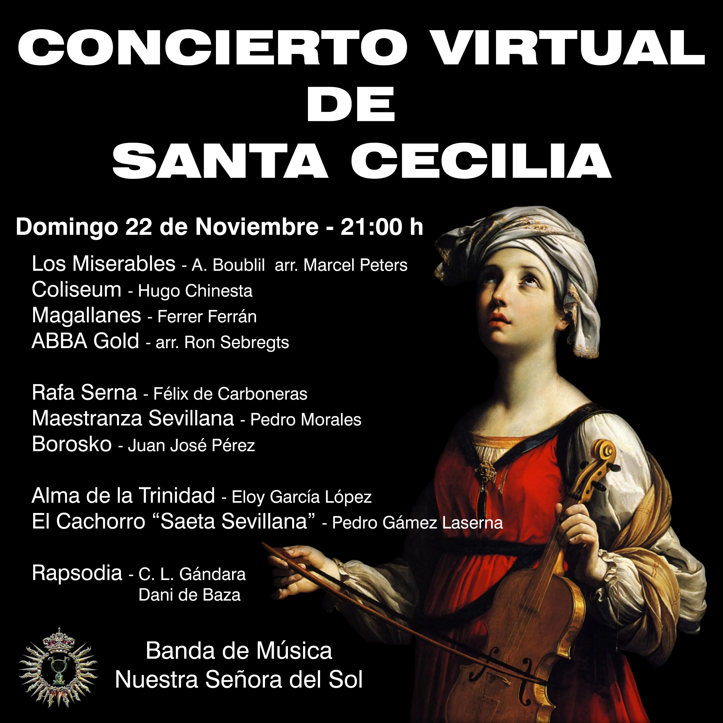 Concierto Virtual de Santa Cecilia 2020