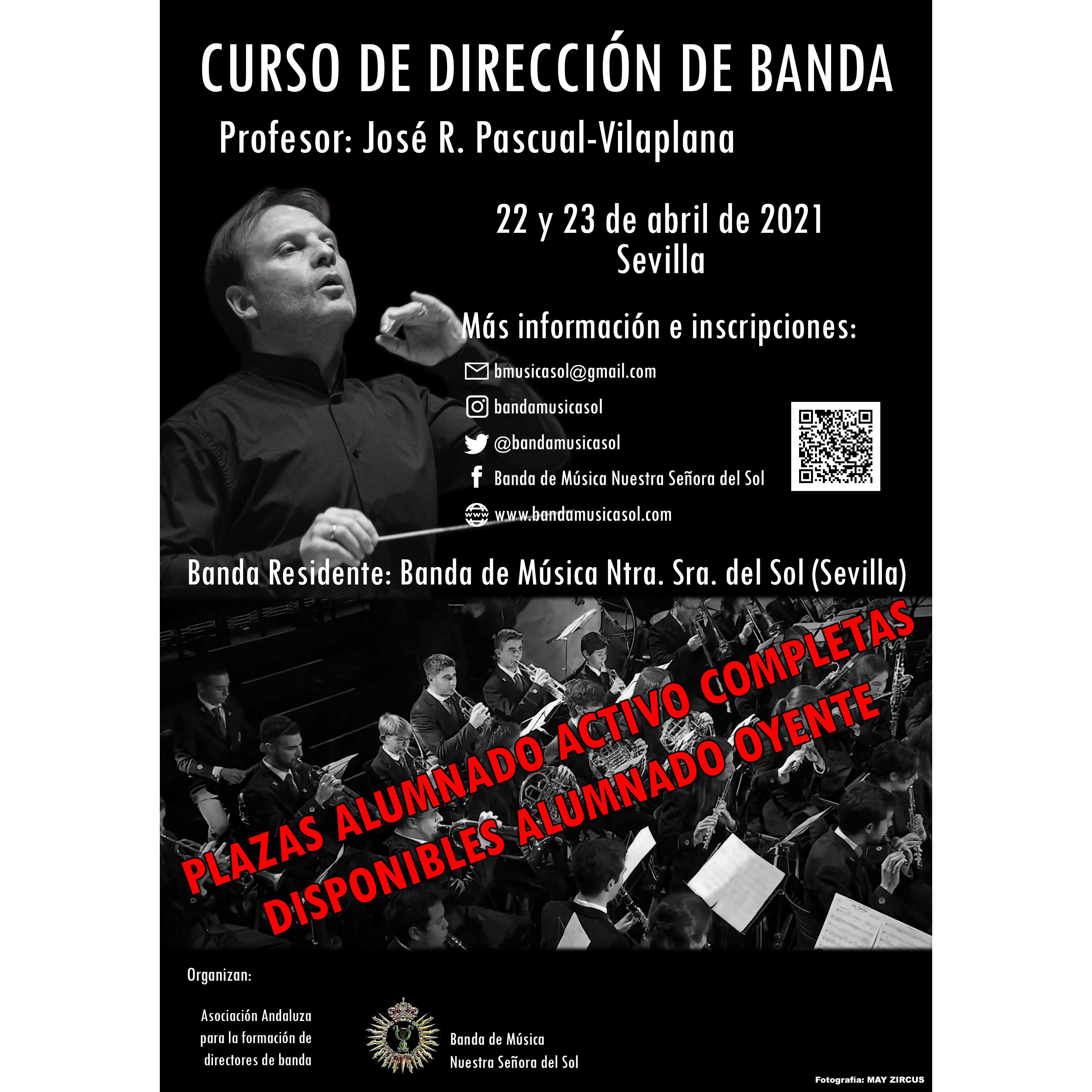 Curso de Dirección de Banda · José R. Pascual-Vilaplana
